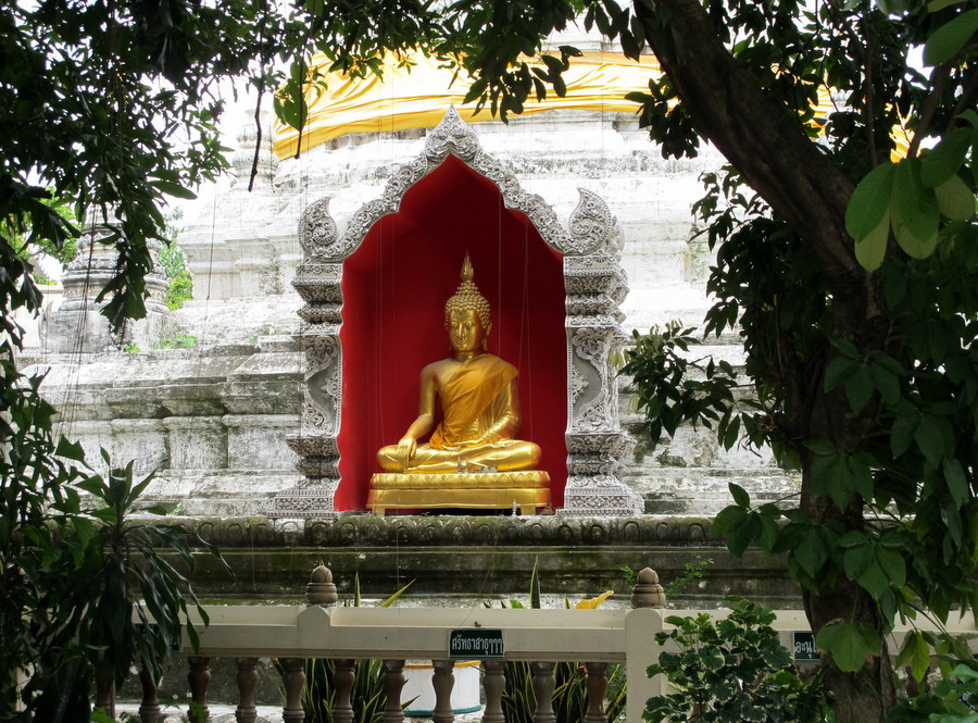 Chedi at Wat Buppharam