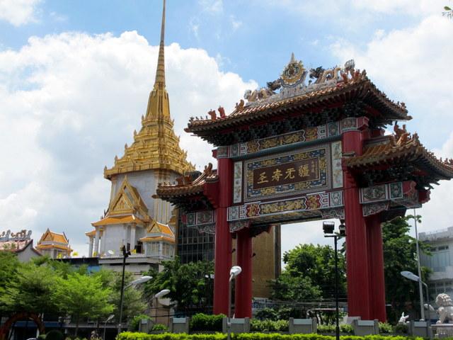Bangkok's gateway to Chinatown