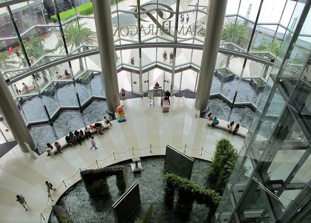 Bangkok Paragon Center.. upscale shopping at its best.