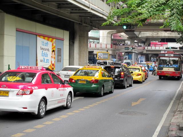 Bangkok's never ending traffic jams