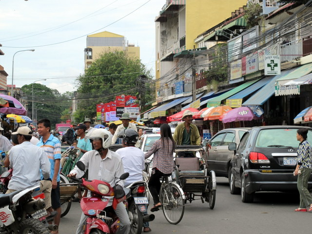 Everyday is a NASCAR day on the streets of Phnom Penh