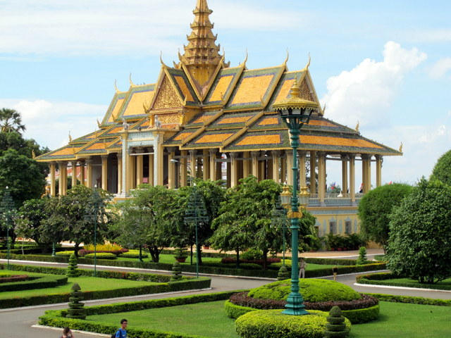Pavilion on the grounds of the Royal Palace Phnom Penh