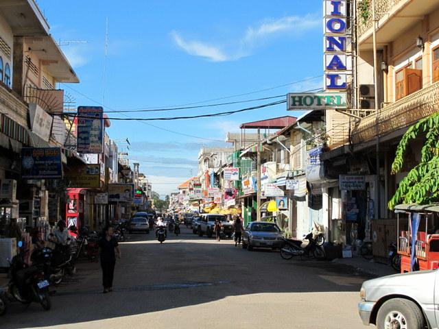 Battambang...Sleepy old French colonial town