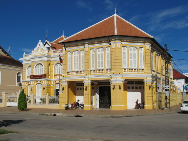 The Bank of Cambodia in Battambang