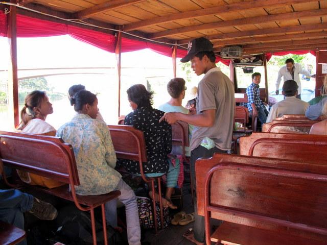 Slow boat to Siem Reap