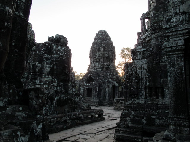 The central sanctuary of The Bayon