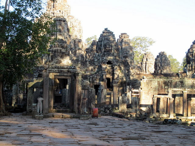 The entrance to The Bayon temple