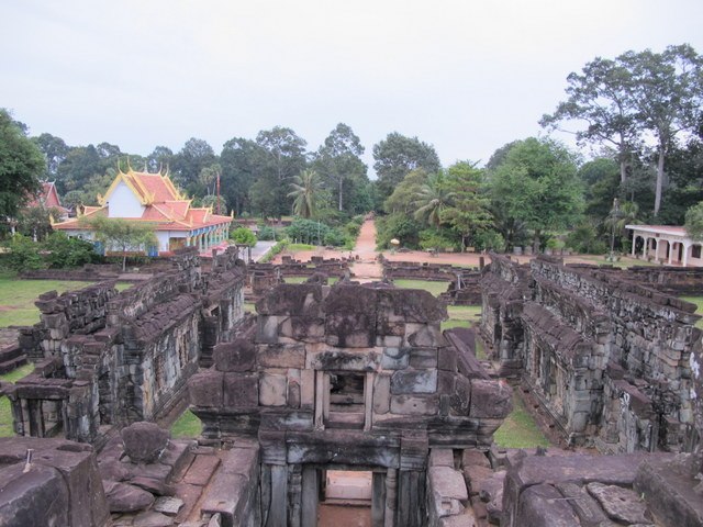 Overlooking the Temple of Bakong