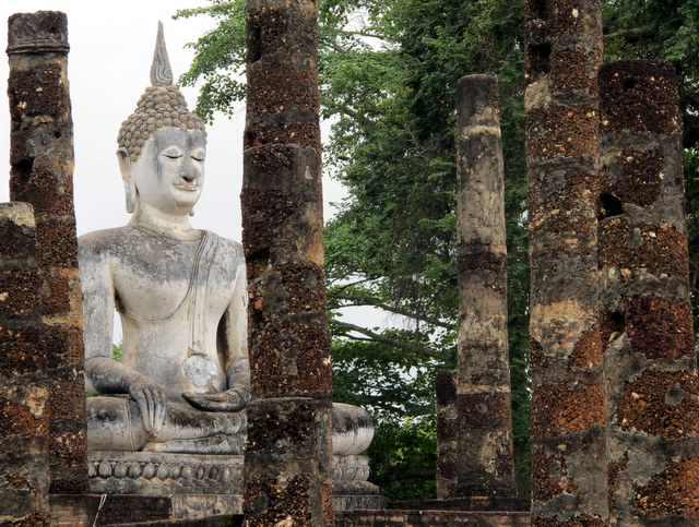 Sukhothai...ruins of an ancient capital in Thailand