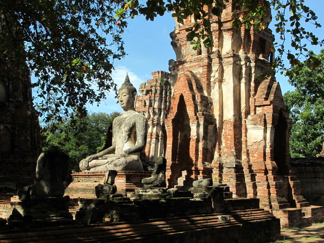 Ruins of the ancient capital of Thailand...Ayutthaya