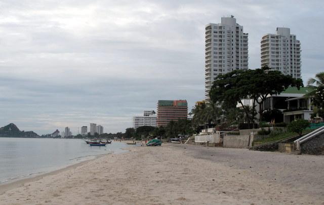 Mornings on the beach at Hua Hin