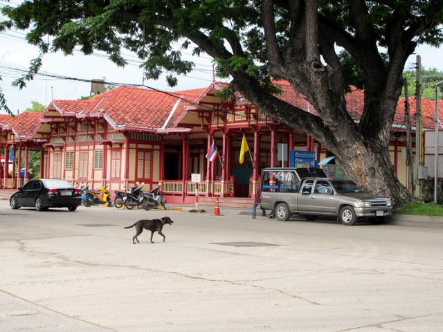 Hua Hin train station circa 1923