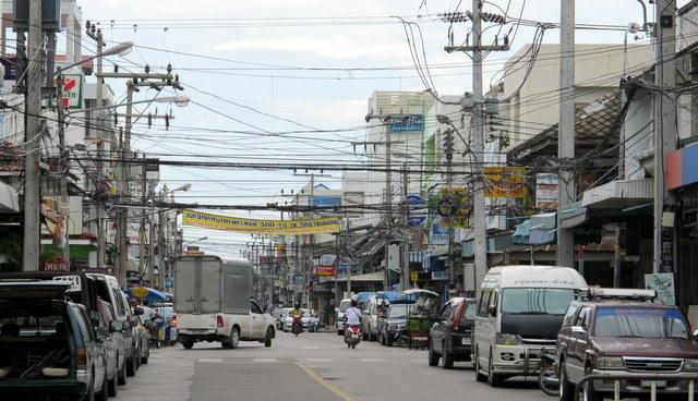 Walking the town of Hua Hin