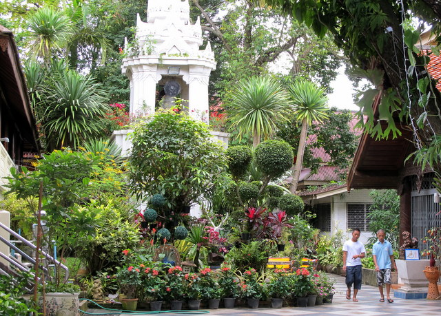 Gardens at Wat Doi Suthep