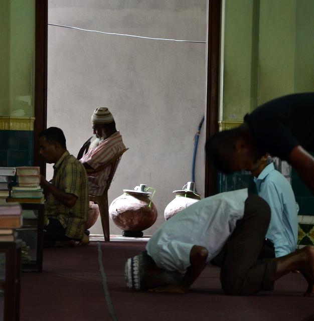 Mosque in the Pettah Neighborhood
