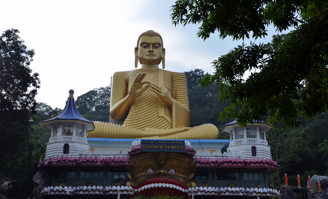 The Golden Buddha, Dambulla