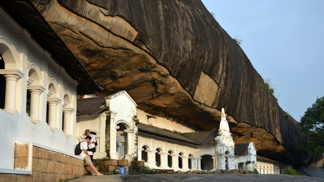Royal Rock Temple, Dambulla
