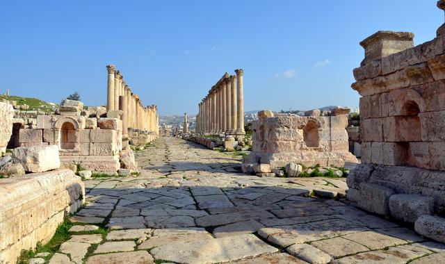 Jarash...Roman Ruins in Jordan