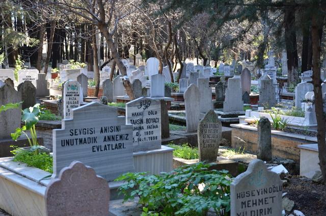 Muslim Cemetery in Antalya