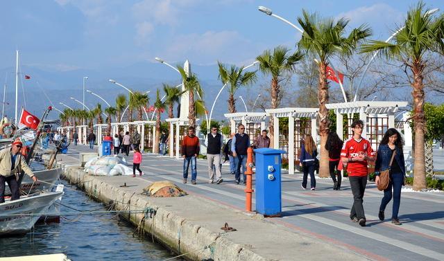 Fethiye waterfront built for strolling