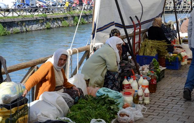 On market day in Fethiye