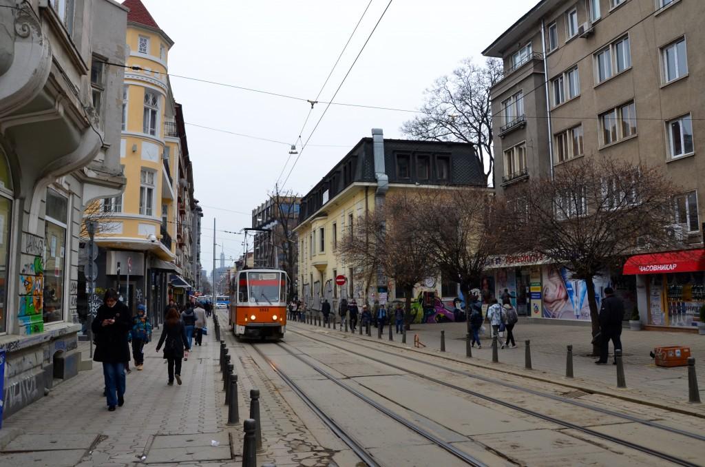 Streets of Sofia Bulgaria