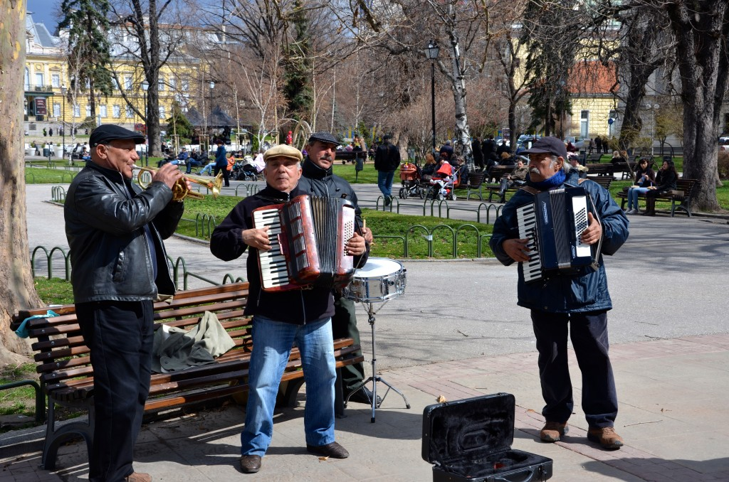 Street Musicians in Sofia