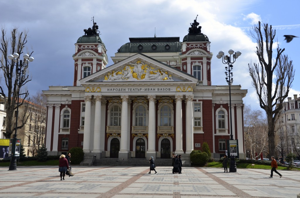 Ivan Vazov Theatre in Sofia