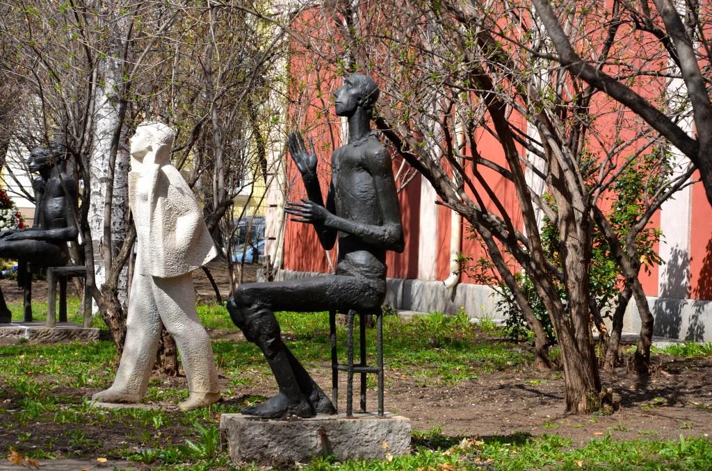 Public sculpture in Sofia, Bulgaria