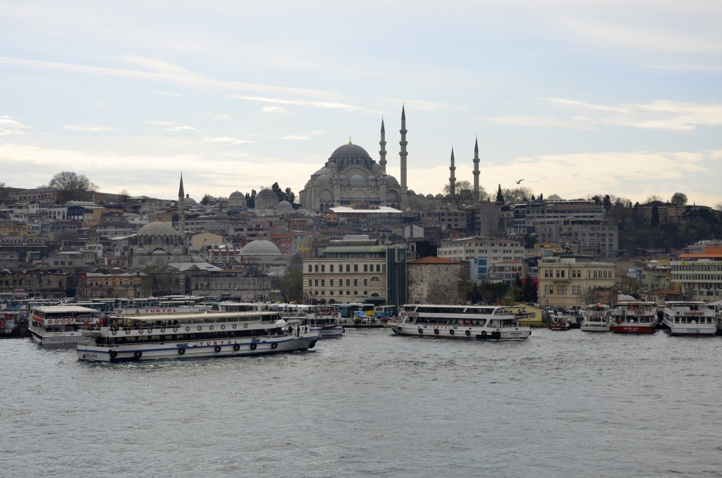 Istanbul- view from the Bosphorus