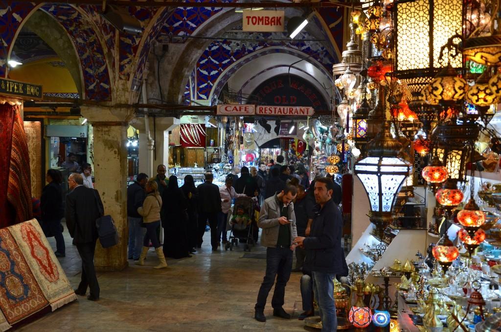 The Grand Bazaar...Istanbul