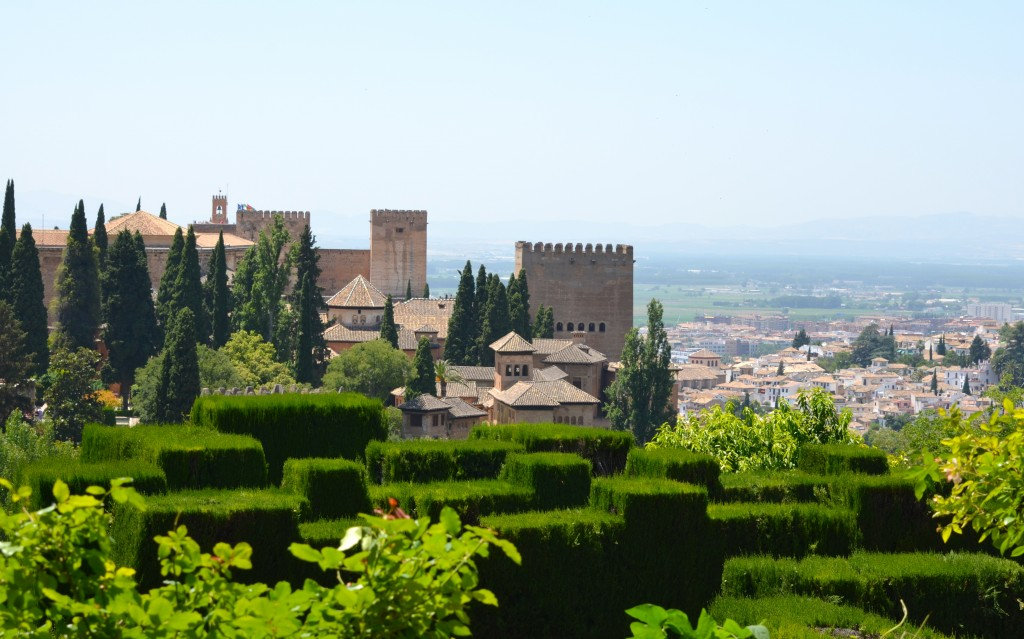 The Alhambra…an architectural masterpiece.
