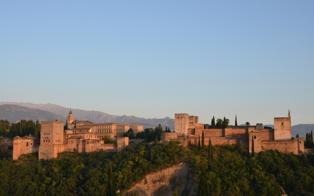 The Alhambra…an architectural masterpiece in Granada, Spain
