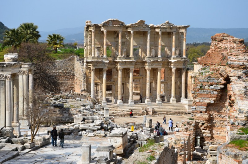 The Library in the ancient city of Ephasus
