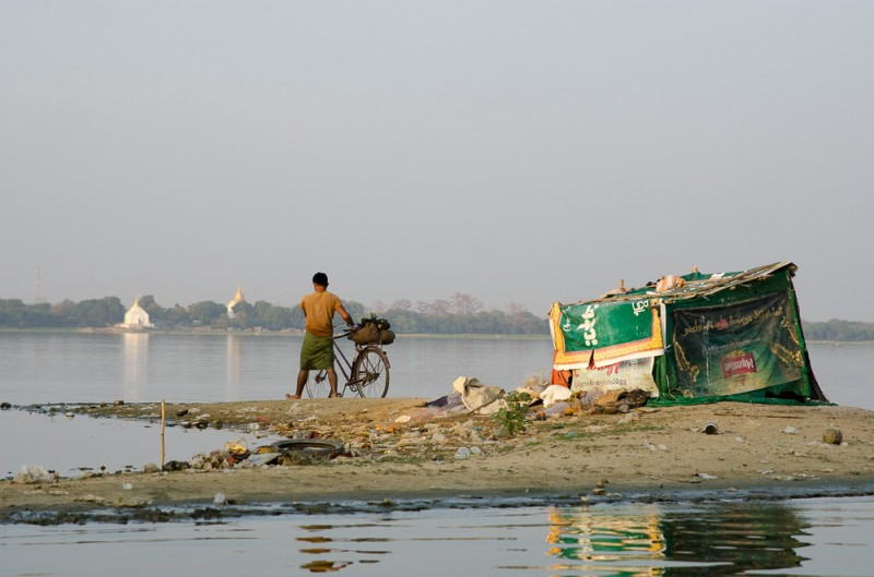 The ever changing Irrawaddy River