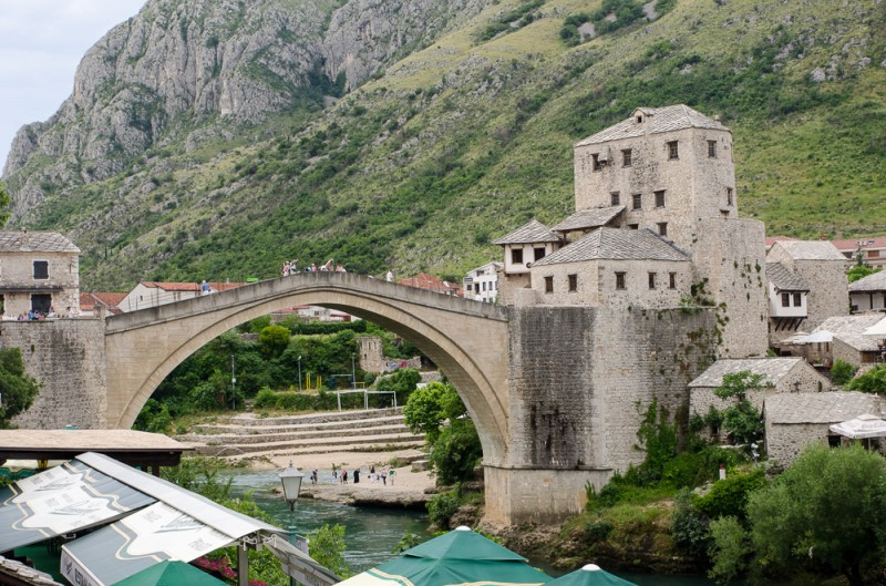 Moving on to Mostar…the divided city